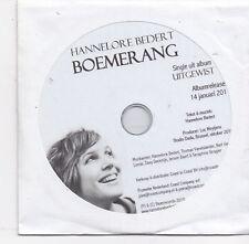 Hannelore Bedert-Boemerang Promo cd single