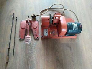 Eraser Rush Wire Stripper K-7-H K-154 K-190 Foot Pedal Cable Electric Motor