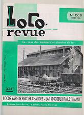 LOCO REVUE N°266 LA 150 X DEUX RAIL / WAGON COUVERT DE 20 t / FER & TRAM ESPAGNE