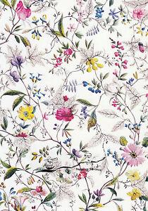 Kunstkarte: William Kilburn - Textildesign blumen