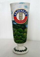 Erdinger Weissbrau Neuschwanstein Castle German Ceramic Beer Mug Stein Goblet
