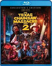 TEXAS CHAINSAW MASSACRE: PART 2 BLU-RAY - COLLECTOR'S EDITION [2 DISCS] - NEW