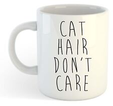 chat cheveux, Don't soin, Funny Mug