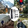 Pair 2 Trekking Walking Hiking Sticks Poles Adjustable Alpenstock anti-shock US.