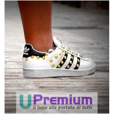 Adidas Superstar Studded Gold 2021 Shoes Original 100% Italy Custom