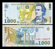 ROMANIA 1000 LEI 1998 , UNC ,  P-106