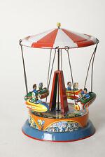 Blechspielzeug: Jahrmarkt Ketten-Karussell von B&S Jumbo, West-Germany (109941)