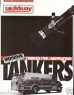 Fire Equipment Brochure - Saulsbury - Mohawk Stainless Steel Tanker  (DB139)