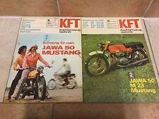 Kraftfahrzeugtechnik KFT Jawa 50 Mustang 08/1976; 10/1973 DDR Ähnlich Zu Simson…