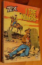 """°Tex° n.216 """"I tre killers""""  -lire 400- Ottobre1978"""