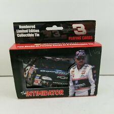 NEW SEALED Nascar The Intimidator Playing Cards Tin 1999