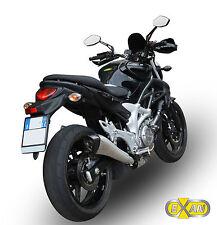 SILENCIEUX EXAN X-BLACK EVO INOX SUZUKI GLADIUS 2009/15 - S674CO-I