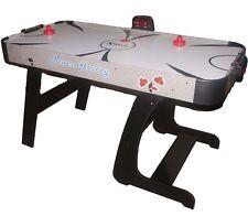 Foldable 4.5 Foot Air Hockey Table Air Hockey. Electronic Scoring