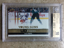 13-14 UD Series 1 YG Young Guns Canvas #C119 THOMAS HERTL Graded BGS 10