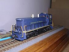 Brass Alco Models Central of Virginia Emd Sw-1500 Diesel Loco #1107 Custom Ptd.