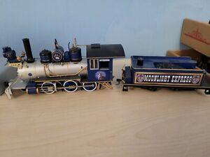 Hawthorne Village Bachmann Silver Moon Express Wolf Train Loco Engine/Tender