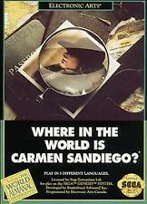 Where in the World Is Carmen Sandiego (Sega Genesis, 1992)