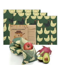 Pc3 Beeswax Food Wraps | S M L| Reduce Use of Plastic
