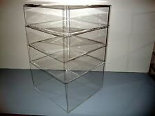 "Acrylic Lucite Countertop Display Case ShowCase Box Cabinet 12"" x 12"" x 19"""