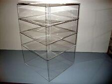 305displays Acrylic Countertop Display 12 X 12 X 19 Showcase Box Cabinet