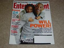 THE PURSUIT OF HAPPYNESS WILL JADEN SMITH 2006 ENTERTAINMENT WEEKLY MAGAZINE 911