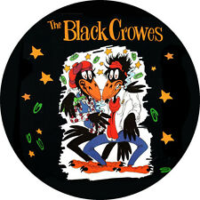 CHAPA/BADGE THE BLACK CROWES . pin button jayhawks allman brothers neil young