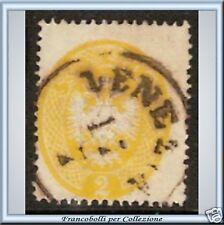 Antichi Stati Lombardo Veneto 2 soldi giallo n 36 Usato