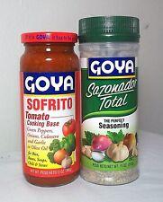 Puerto Rico Seasoning Sazonador Total Sofrito Goya SpiceBouillon SpanishCooking