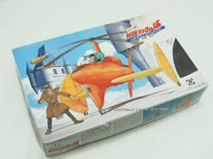 GUNZE 1/48 Studio Ghibli THE CASTLE OF CAGLIOSTRO LUPIN Ⅲ and AUTOGYRO