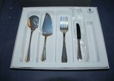 NICE! WATERFORD FINE FLATWARE 4 PIECE HOSTESS SERVING SET – IN BOX - STAINLESS