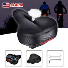 MTB Saddle Mountain Bike Seat Bicycle Cruiser Soft Pad Comfort Wide Breathable