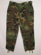 U.S. Military Army Men's Cargo Camo Uniform Combat Pants - M short