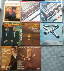 "Job Lot X 41 Vinyl Records LP Albums 7'' & 12"" Singles from 1960s 1970s 1980s"