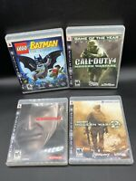 Ps3 Game Lot Of 4 Games Playstation 3 - COD MW 2 Lego Batman, Metal Gear Solid 4