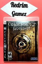 Condemned 2 Bloodshot PS3 Video Games