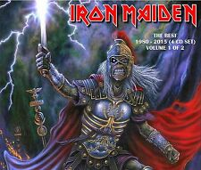 Iron Maiden - The Best 1980 - 2015 (4 CD Set) Volume 1 of 2 - Sealed! New!