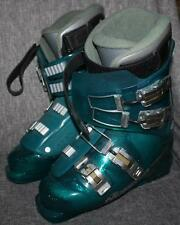 NORDICA CRYSTAL Ski Boots Green Italy size 25 25.5 Dynamic Power Wrap Excellent
