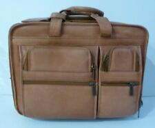 Claire Chase Rolling Computer Brief 3 Colors Wheeled Business Case USED