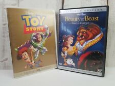 Disney DVD Lot of 2 - Toy Story Remastered & Beauty the Beast Special Edition