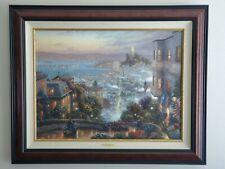 "Thomas Kinkade ""San Francisco, Lombard Street"" A/P on canvas 25.5"" x 34"""