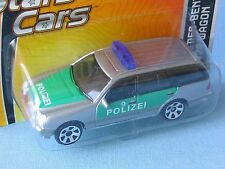 Matchbox Mercedes Benz 420 German Polizei Police Silver Estate Car 70mm in BP