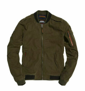 Superdry Rookie Duty Bomber Jacket - Dark Green BNWT