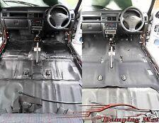18 Hojas 23sq.ft. sonido amortiguamiento aislamiento para coche vehículo almohadillas absorbente