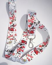 MOOMIN LITTLE MY PRINTED LANYARD NECK STRAP ID TAG PIN HOLDER