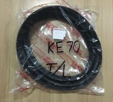 Trunk Luggage Rubber Seal Weatherstrip For 1979-87 Toyota Corolla KE70 2-Dr 4-Dr
