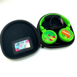 RARE Nickelodeon Kids Choice Awards 2013 Presenter Gift Item | Green Headphones