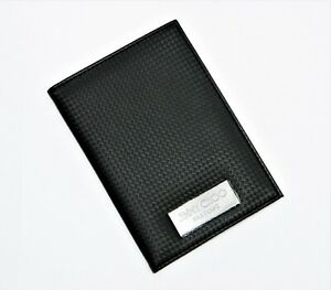JIMMY CHOO PARFUMS BLACK PVC PASSPORT HOLDER COVER FOLDER NEW WITHOUT TAGS