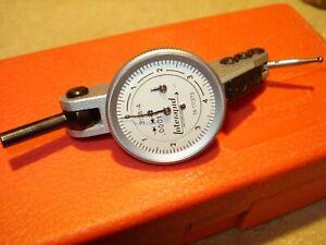 ".0001"" INTERAPID DIAL TEST INDICATOR 312B-4 SWISS MADE PRECISION MACHINIST TOOL"
