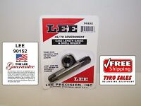 90152 * LEE CASE LENGTH GAUGE & #8 SHELL HOLDER * 45-70 GOVERNMENT