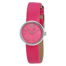 Marc by Marc Jacobs Peggy Pink Dial Pink Leather Ladies Watch MBM1369